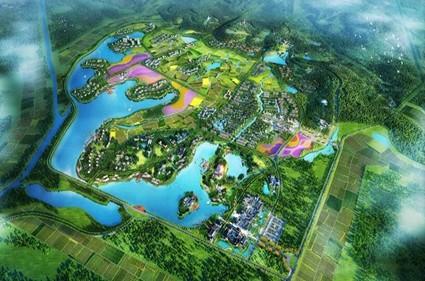 扬州玥珑湖效果图