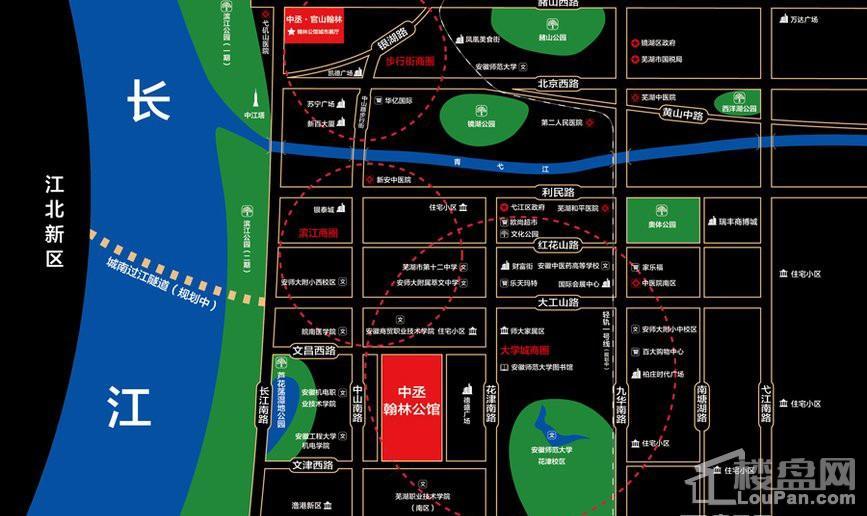 翰林公馆位置图
