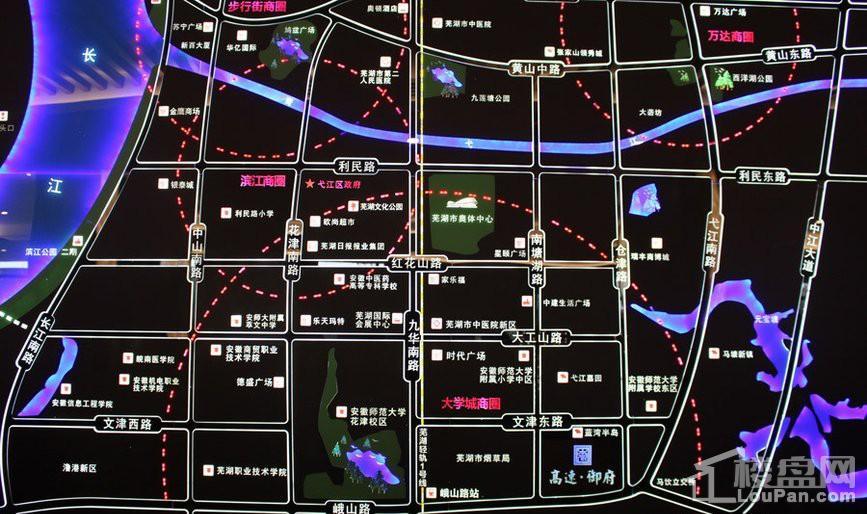 高速御府位置图