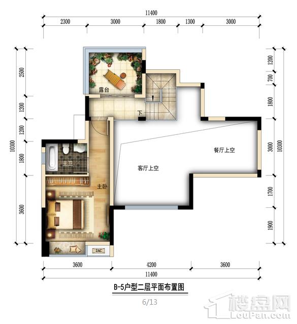金润城B5二层户型