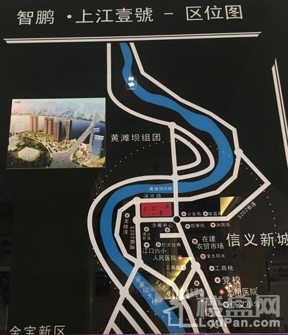 上江壹号位置图