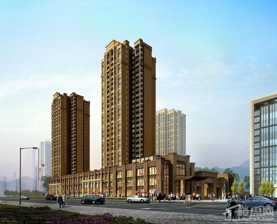 锦绣国际城位置图