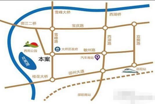 上善·珑湖公馆位置图