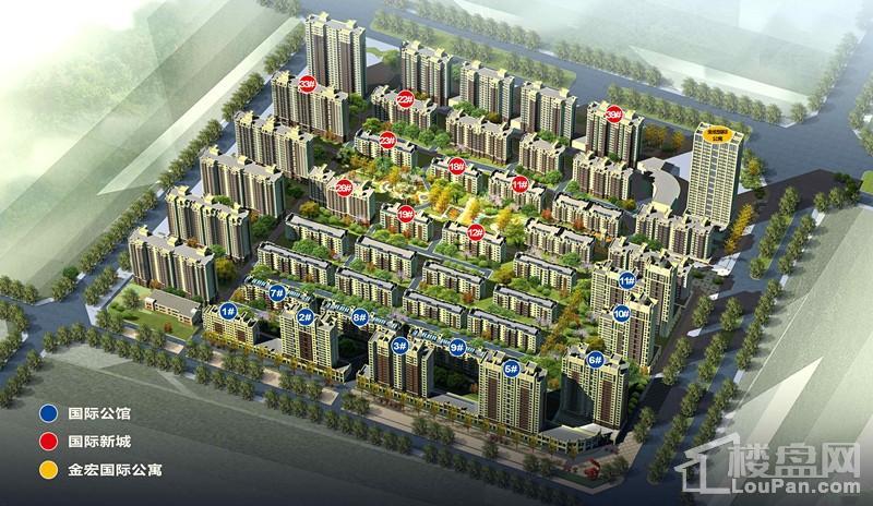 国际新城效果图