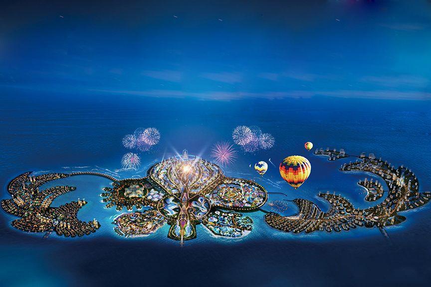 中国海南海花岛配套图