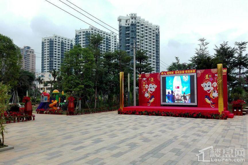 同人·湘海城实景图