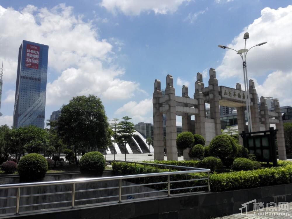 江门万达广场实景图