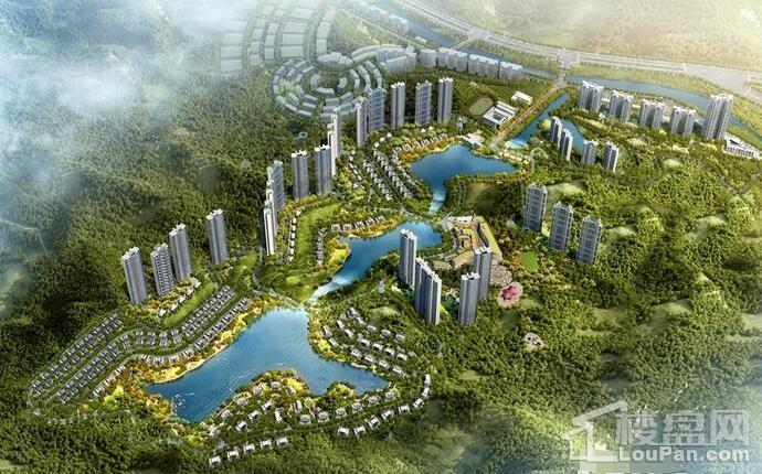 碧桂园·湖光山色效果图