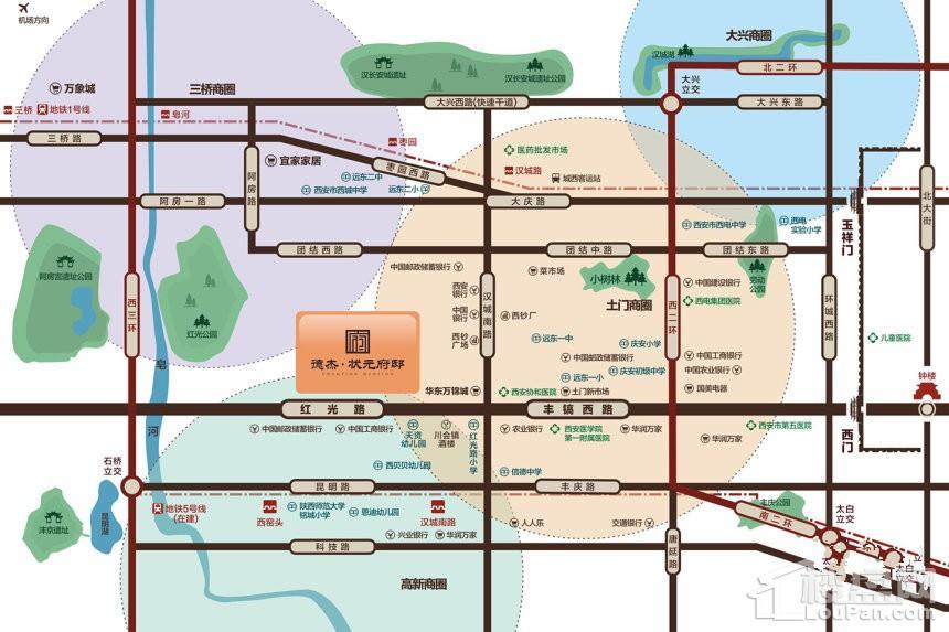 德杰状元府邸位置图