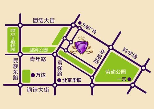 紫光华庭位置图