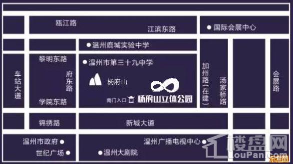 置信江南里商业街位置图