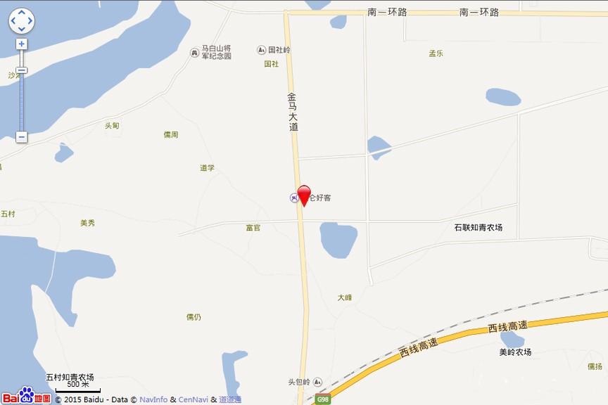 华西芙蓉海位置图
