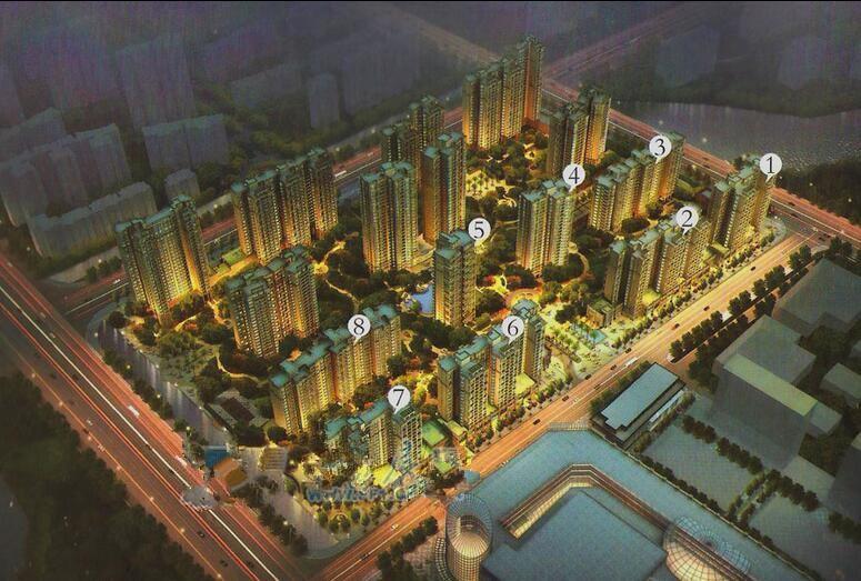 卧龙五洲世纪城效果图