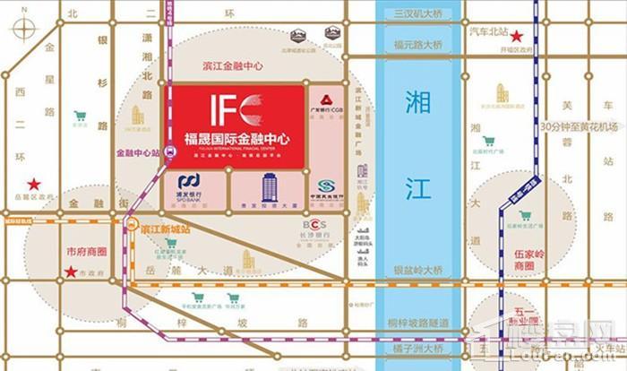 福晟国际金融中心位置图