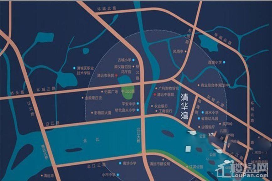 明日清华湾位置图