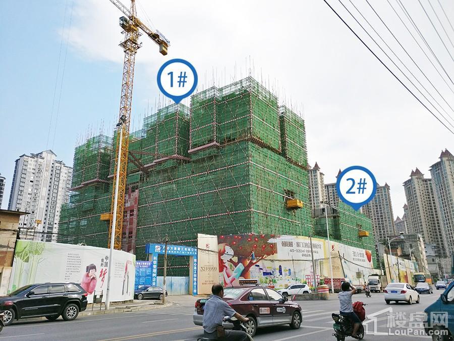 奥园永和府项目工地(摄于2017.7.27)