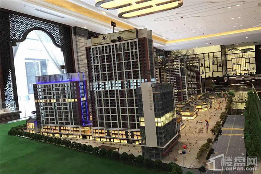 胜利茶文化博览城实景图