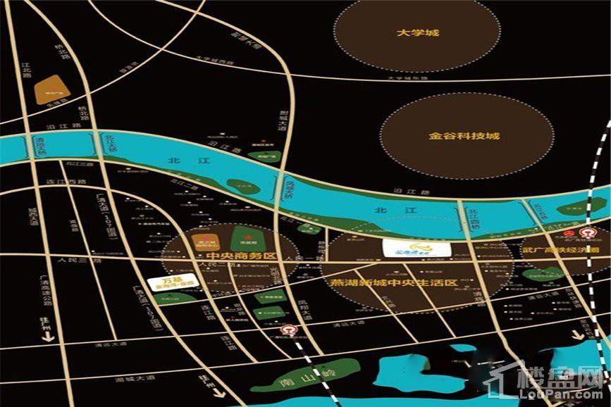 金海湾豪庭位置图