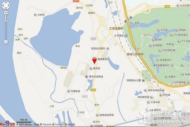 恒大·郦湖城位置图