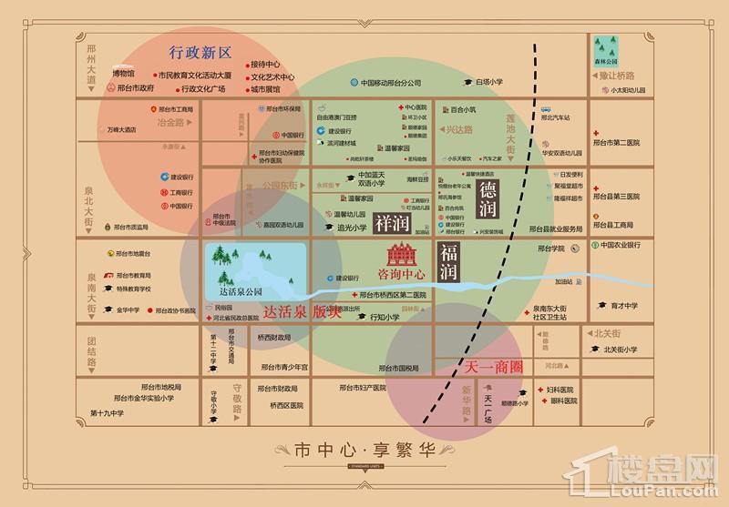 三奕润城位置图
