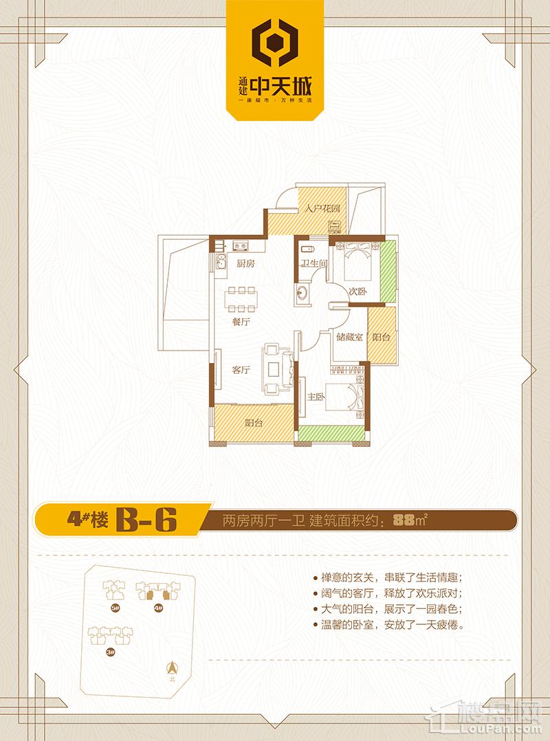 4#楼B-6