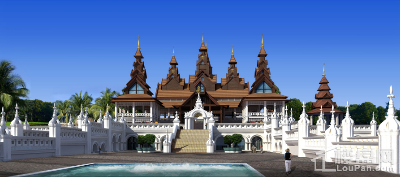 勐巴拉国际旅游度假区实景图