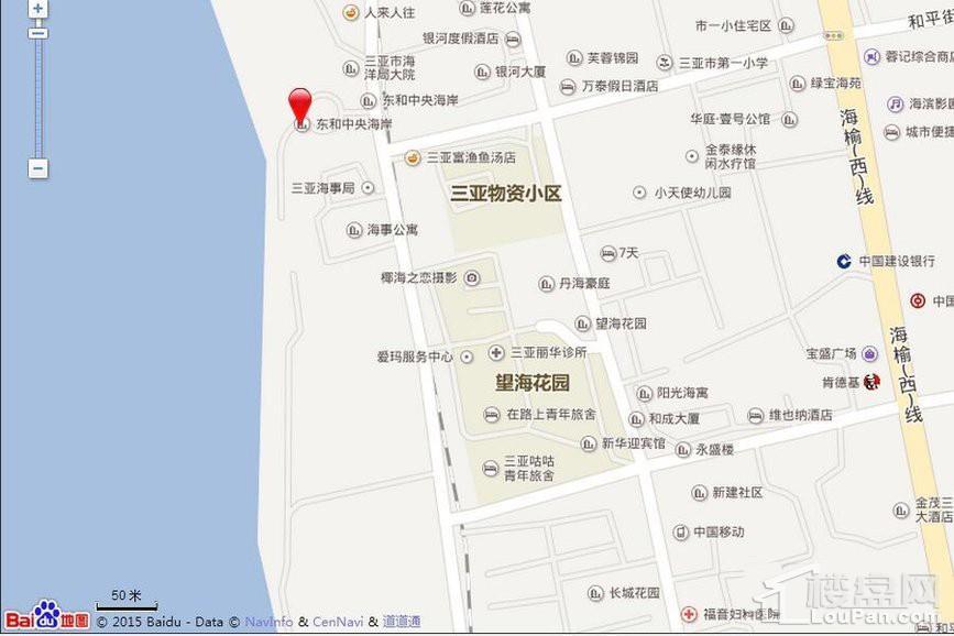 天成中央海岸位置图