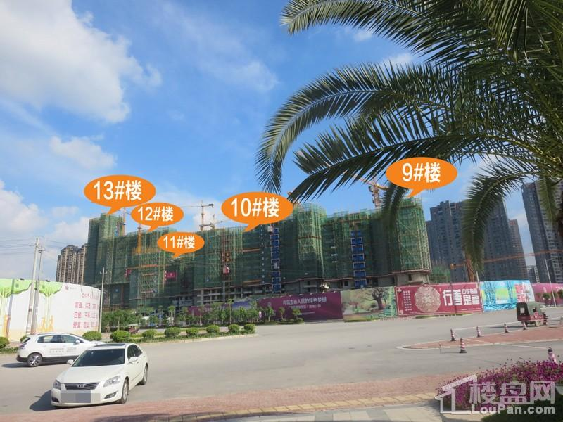中海悦公馆工程进度(摄于2017.7)