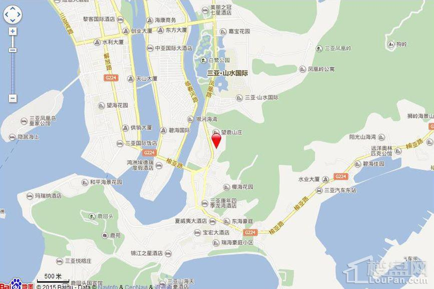 京海成·鹿港溪山位置图