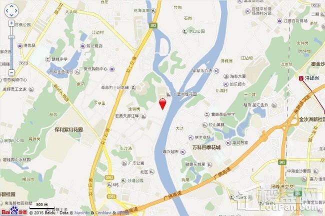 宏宇天御江畔位置图