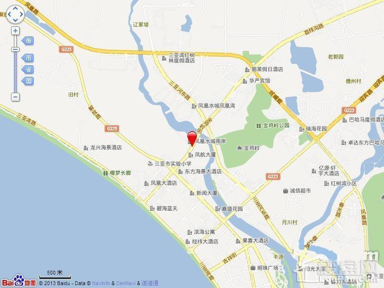 翠屏·凤凰水城位置图