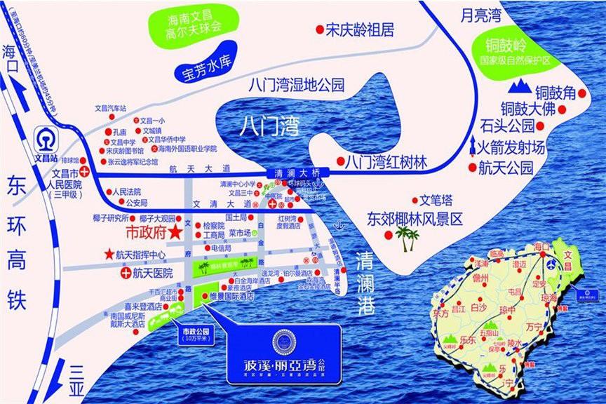 波溪丽亚湾位置图