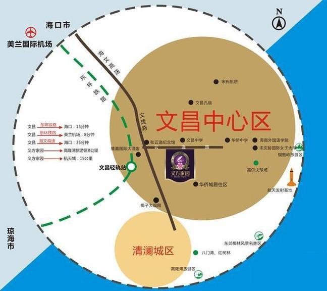 义方家园位置图