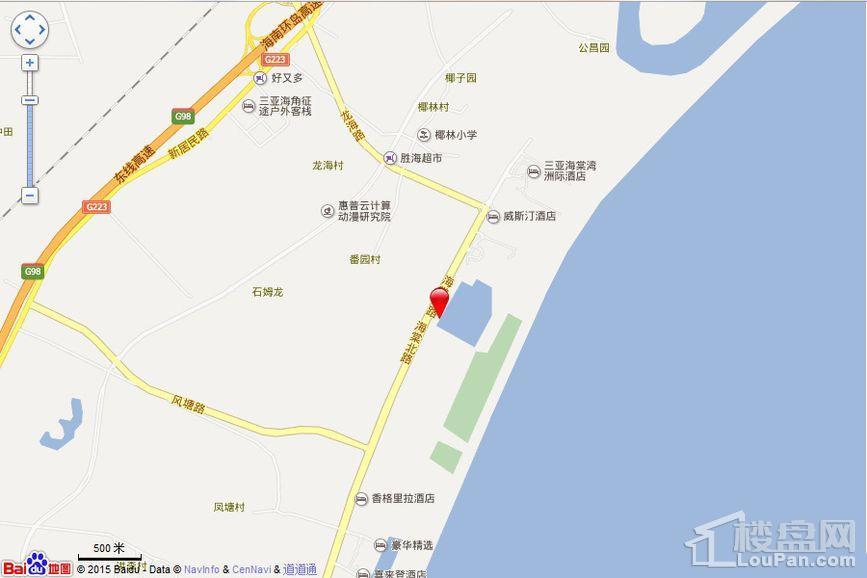 仁恒·海棠湾位置图