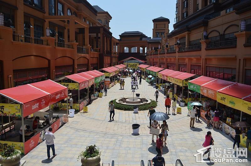 商业街实景图