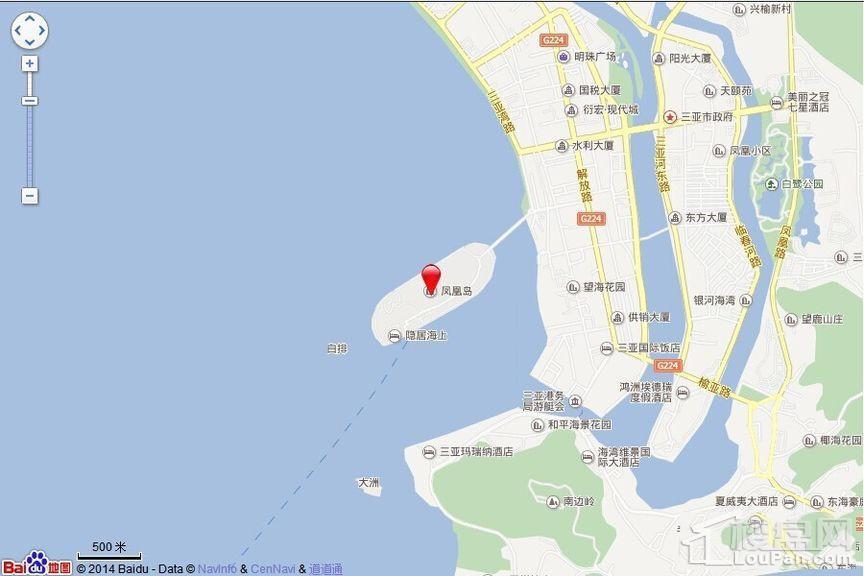 凤凰岛位置图
