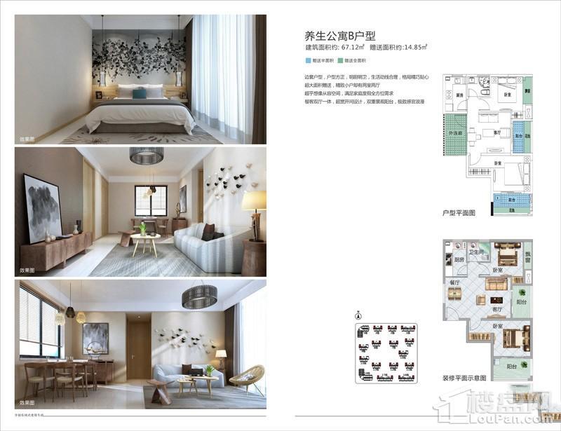 亚洲湾养生公寓B户型