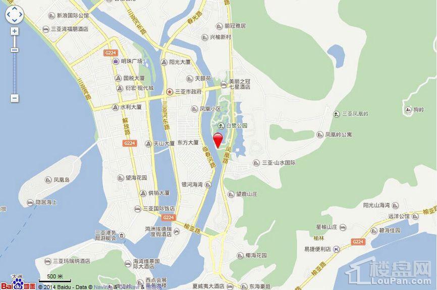 凤岭悦澜位置图