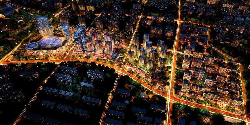 中华城二期 领第效果图