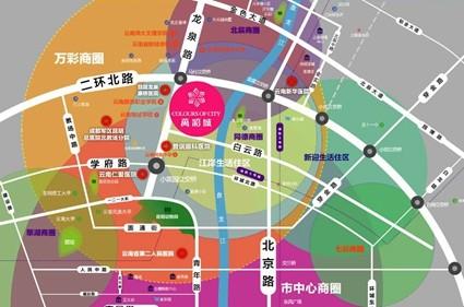 万彩城位置图