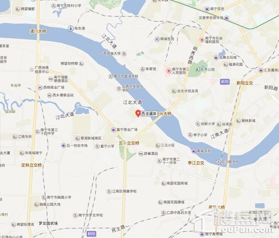 中国铁建西派澜岸位置图