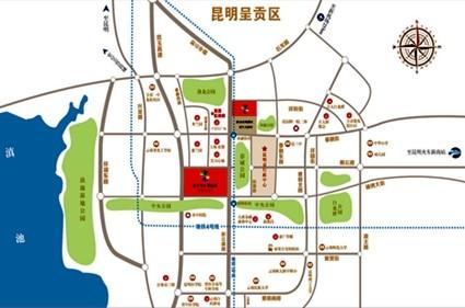 七彩云南第壹城位置图