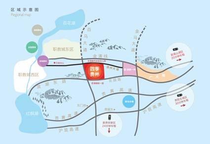 四季贵州位置图