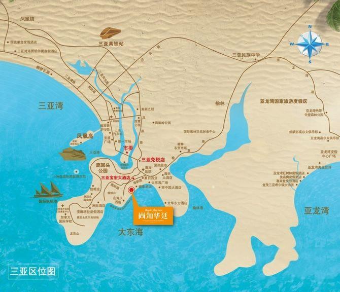 尚海华廷位置图