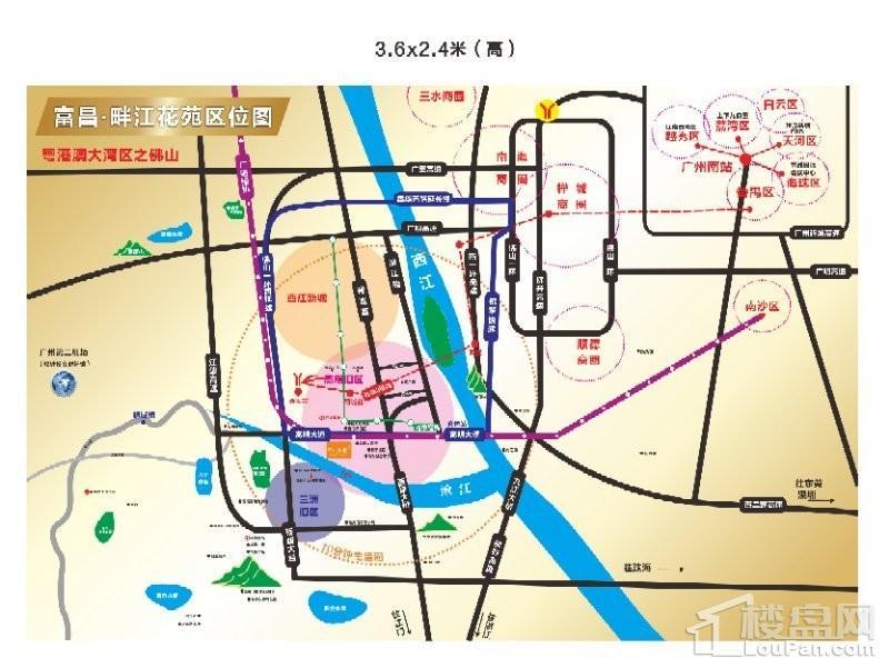 富昌·畔江花苑位置图