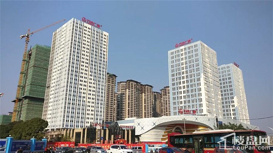江南万达广场实景图
