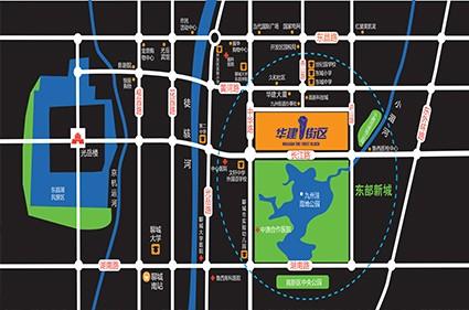 华建1街区效果图