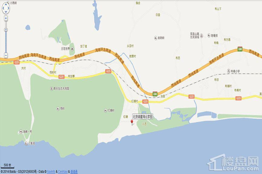 北京城建海云家园位置图