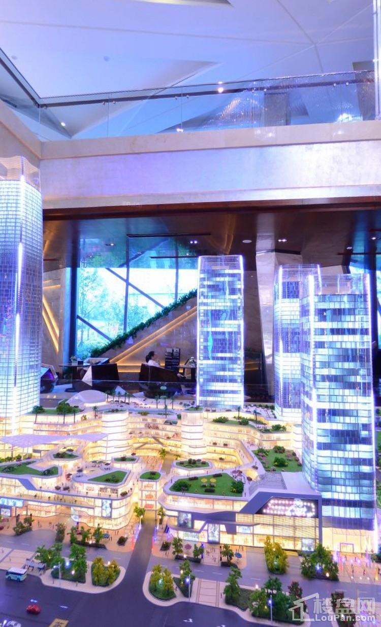 富兴世界金融中心实景图