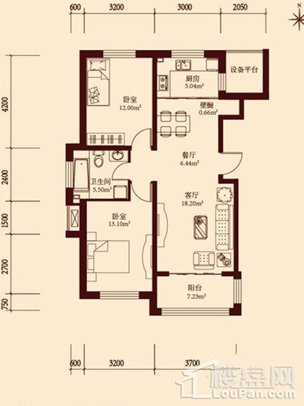 11层小高层通用1户型